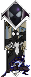 Spider Man  Black  By Malevka1 by malevka1