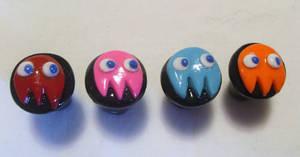 Pac Man Ghosts- Ear Gauges