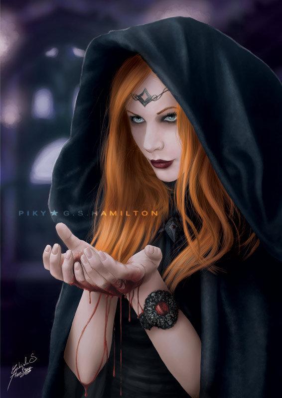 Dark Ritual by Piky