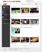New Youtube Design by Febernovo
