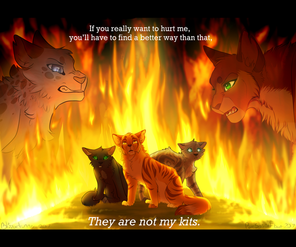 Warrior Cats Squirrelflight And Ashfur Fire