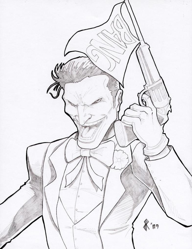 Joker Scribble Drawing : Joker pencils by jrascoe on deviantart