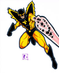 Yellowjacket sketch