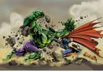 Hulk vs. Superman