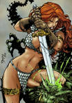 Red Sonja by Benes-colored