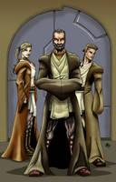 3 Jedi by Jrascoe