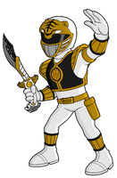Power-Rangers-White-Ranger by elnenecool