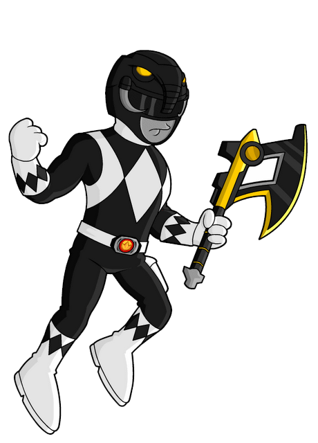 Power-Rangers-Black-Ranger by elnenecool on DeviantArt