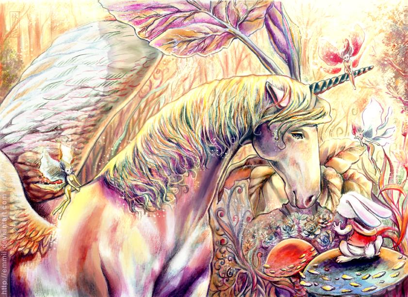 Jack and Kraz: TheLast Unicorn by emmil