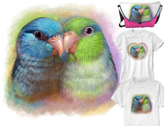 Pacific parrotlets by emmil
