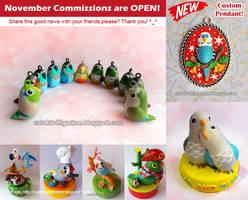 Would you like to order a custom bird figurine?