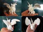 Pocky griffin air dry clay sculpture