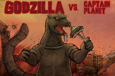 Godzilla vs. Captain Planet