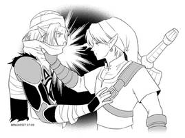 LINK+SHEIK by benlikesit