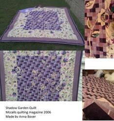 shadow garden quilt Annas
