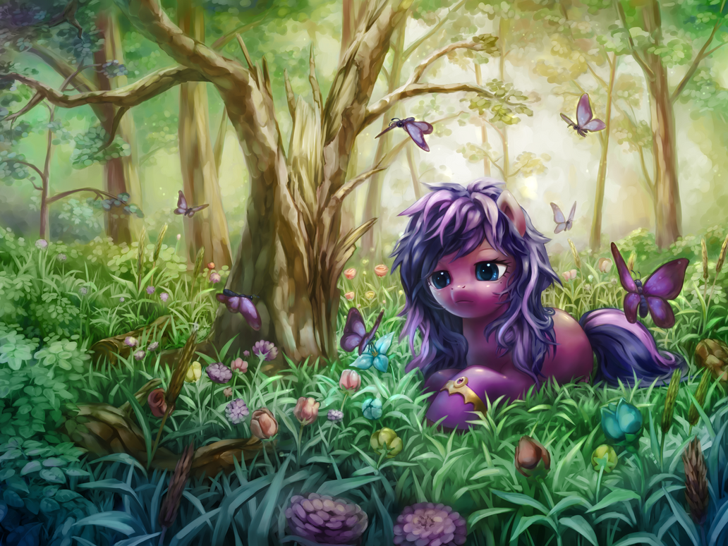 Angelheart in the Forest by stupjam