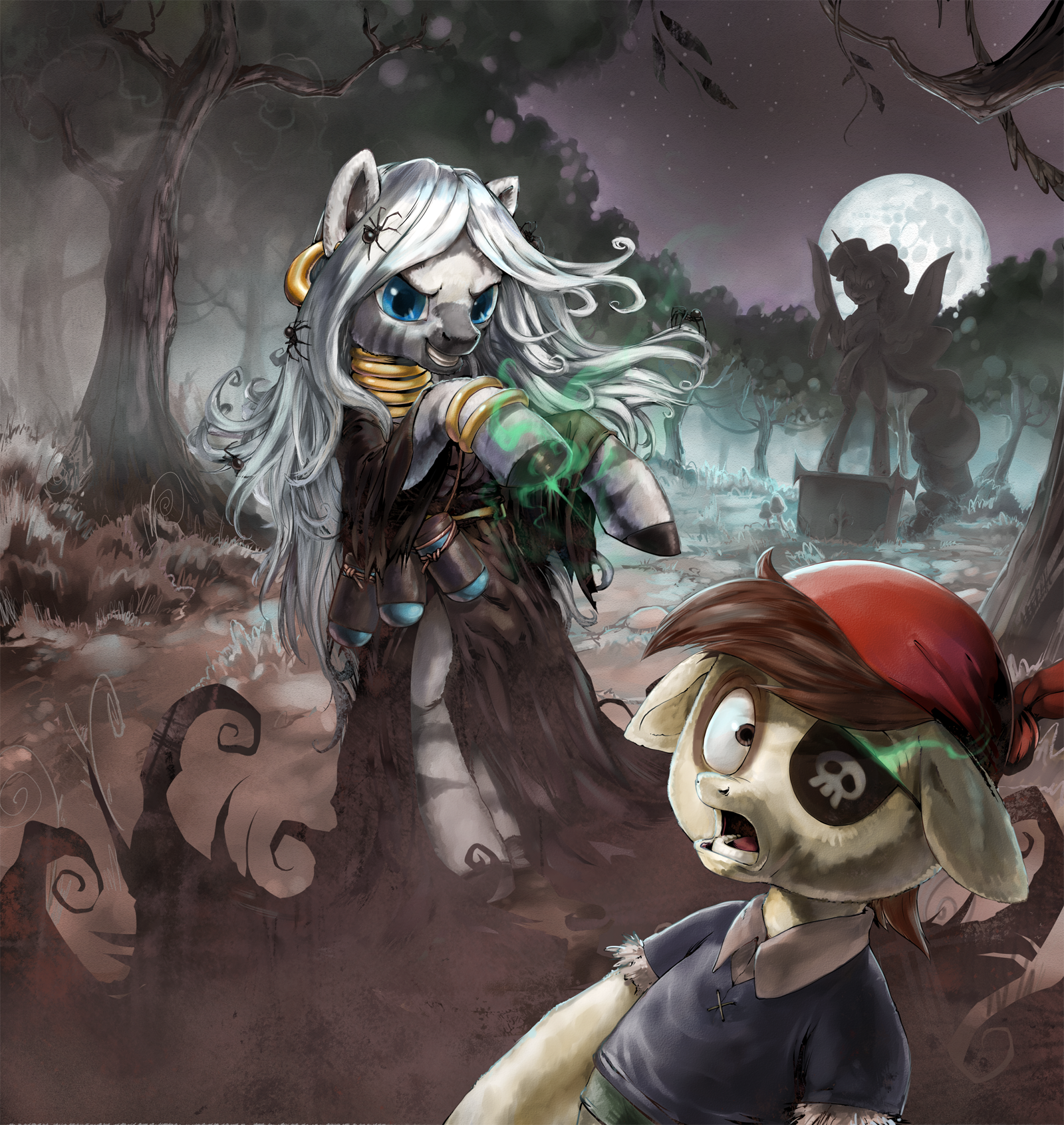 Zecora Talks About Nightmare Moon by stupjam