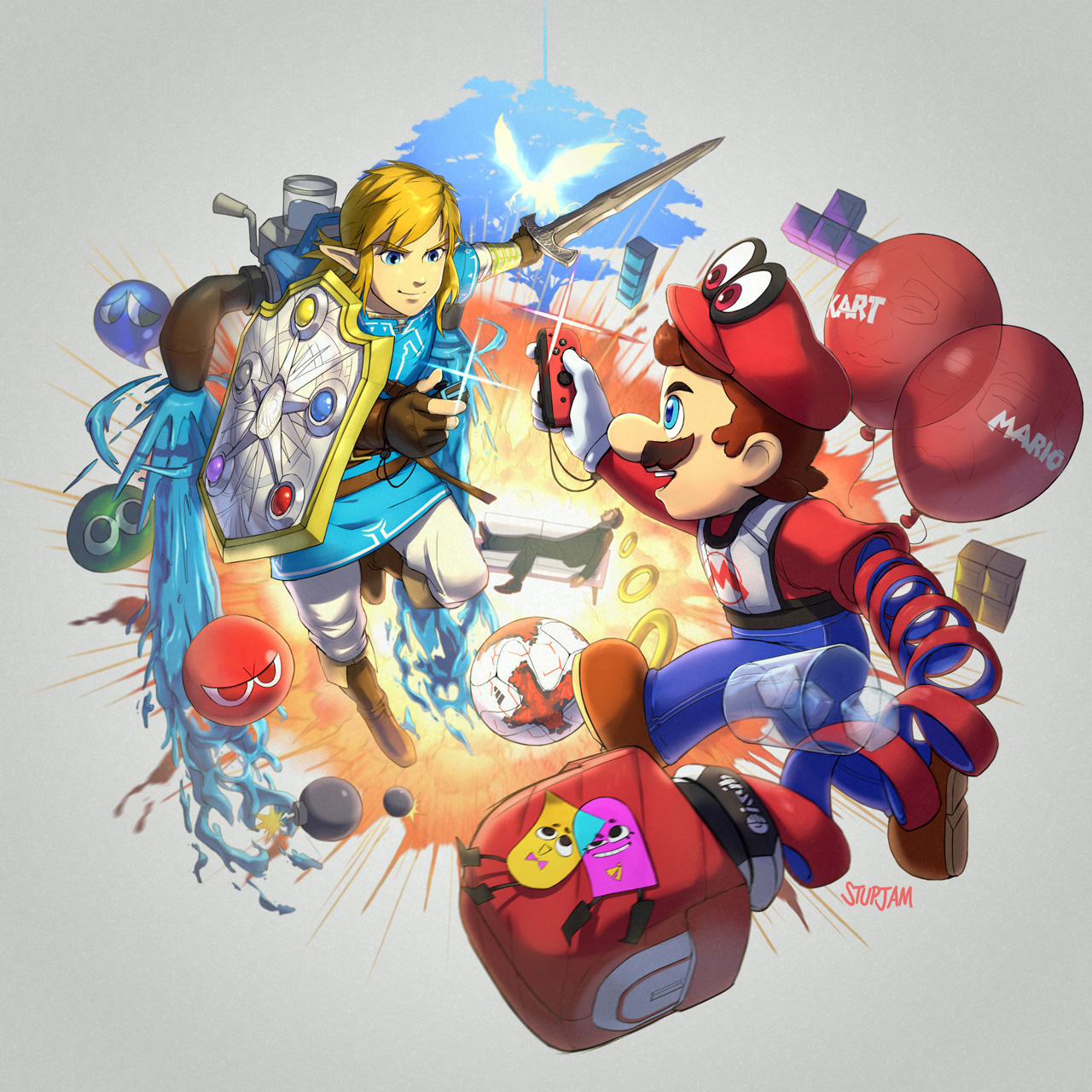 art games for nintendo switch