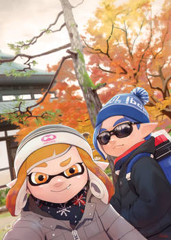 Squids in Tofukuji