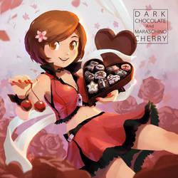 Dark Chocolate and Maraschino Cherry - Cover-Art by stupjam