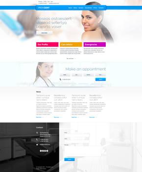 Provident - dental website