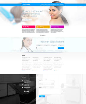 Provident - dental website