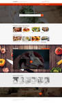 Gourmet Food Layout by trzyGie