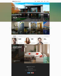 AMELIA Real Estate Agency Layout by trzyGie