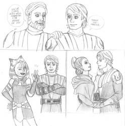 SW The Clone Wars - Anakin Skywalker by KatyTorres
