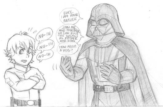 Star Wars: Darth Vader and Luke