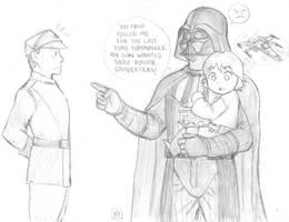 Star Wars - Darth Vader and Lukey