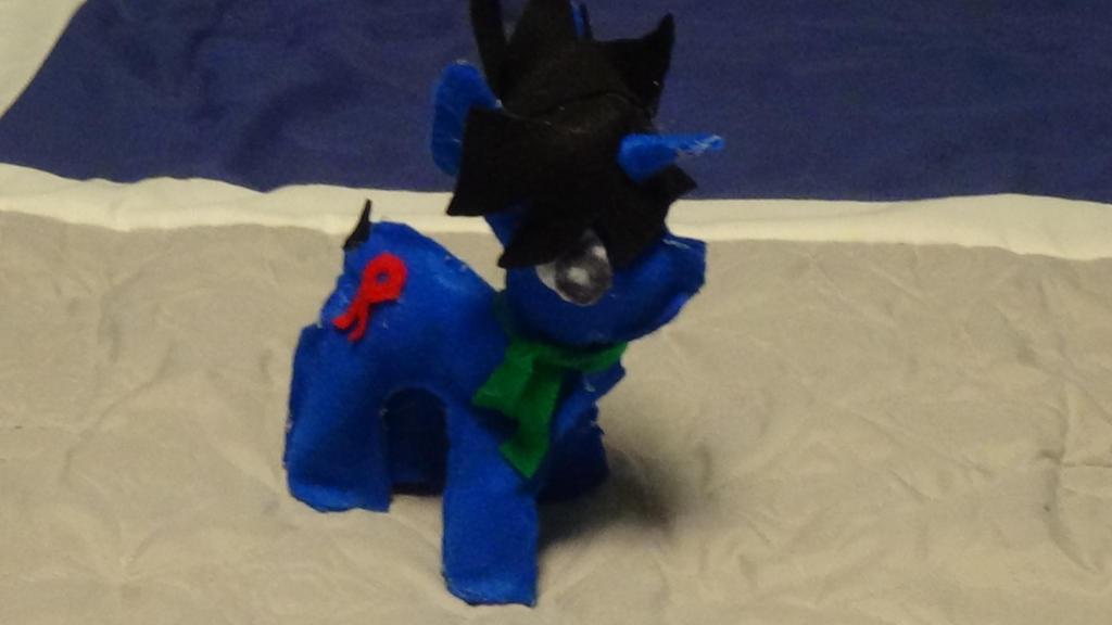 Plush. A.J. (The Autistic Pony) by Twilyx360