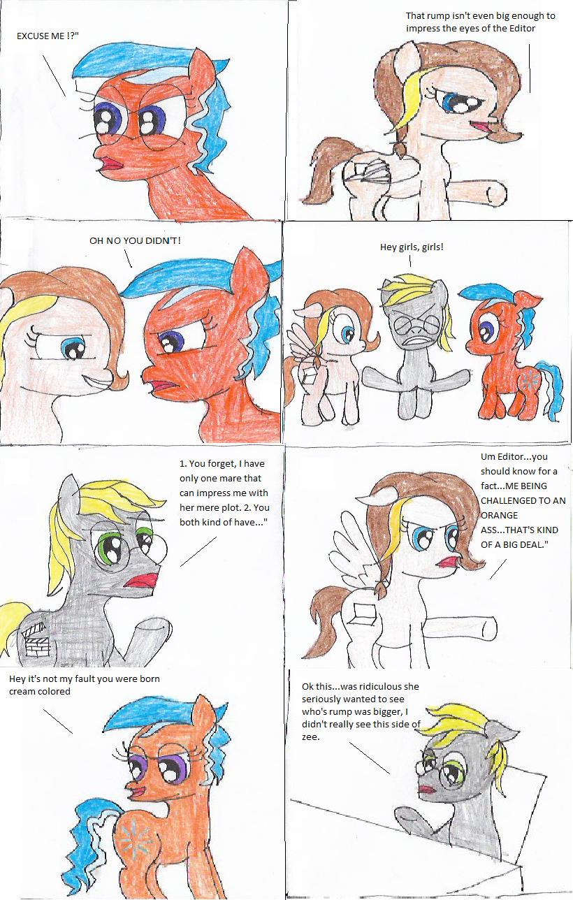 The Rump Queen Episode: 1 Comic: 2 by Twilyx360