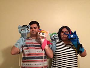 The 4 Random Puppets