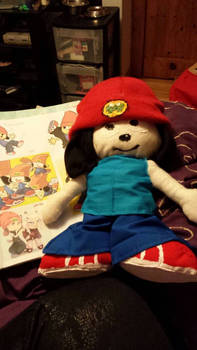 (Almost) Finished PaRappa Plushie