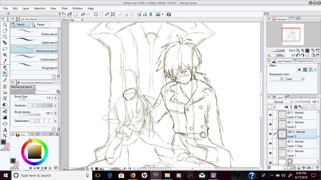 A Father's Hand - Work in Progress by Hagane85