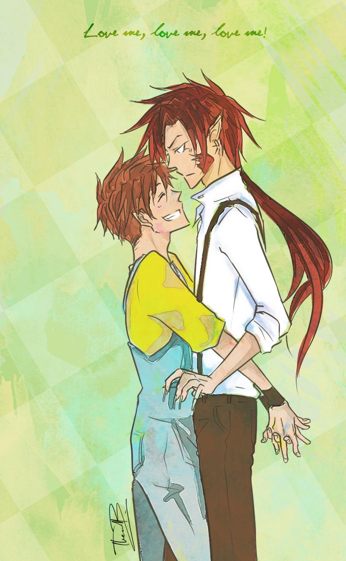 Saiyuki: love me, love me, love me by wolf-zaa