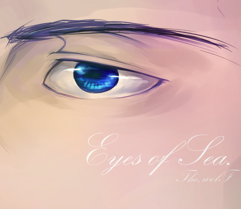 Eyes of Sea by wolf-zaa