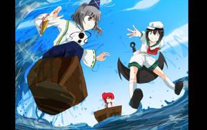 Gensokyo Surfer VS Ass Anchor by Kapiten70