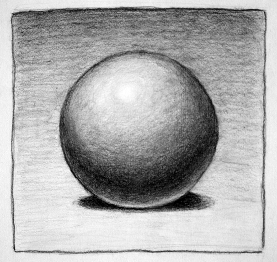 Value Balance Art Definition : Shaded sphere by pmucks on deviantart