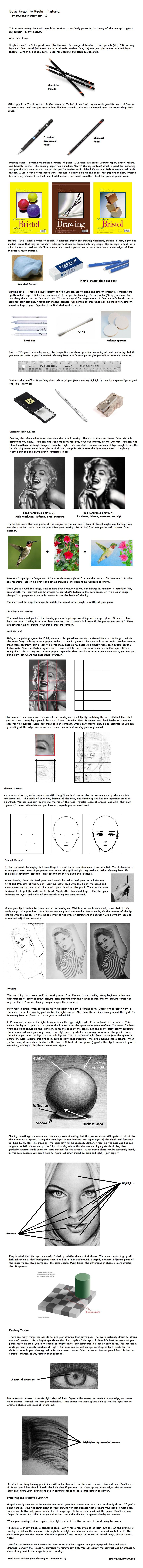 Basic Graphite Realism Tutorial by PMucks