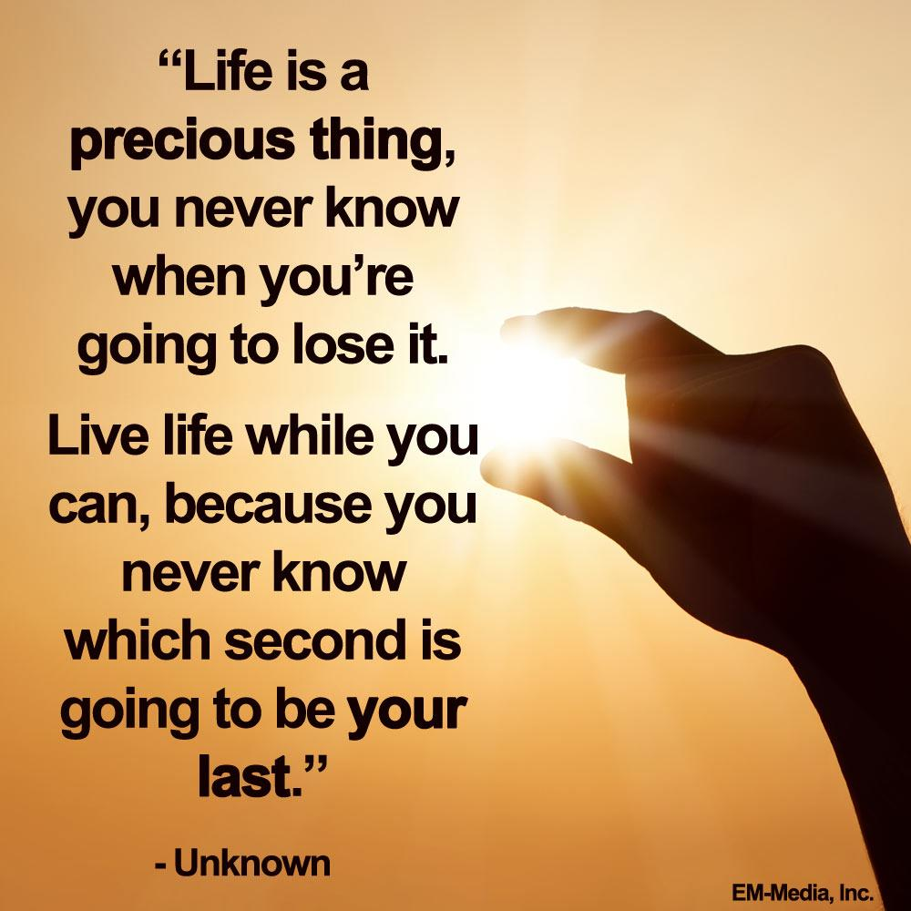 Quote Of Life 25 Inspirational Quotes About Life