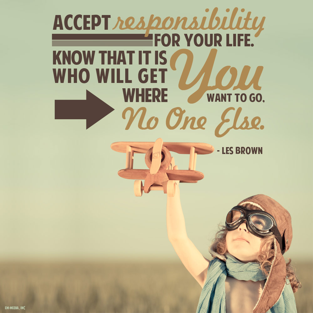 taking responsibility Taking responsibility experience has shown that one factor is especially important in determining the degree of progress you will make in treatment.