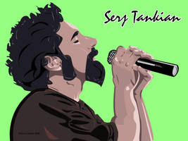Serj Tankian by rabidbribri