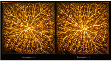 Standing Wave II,  in stereo by Shockfossils