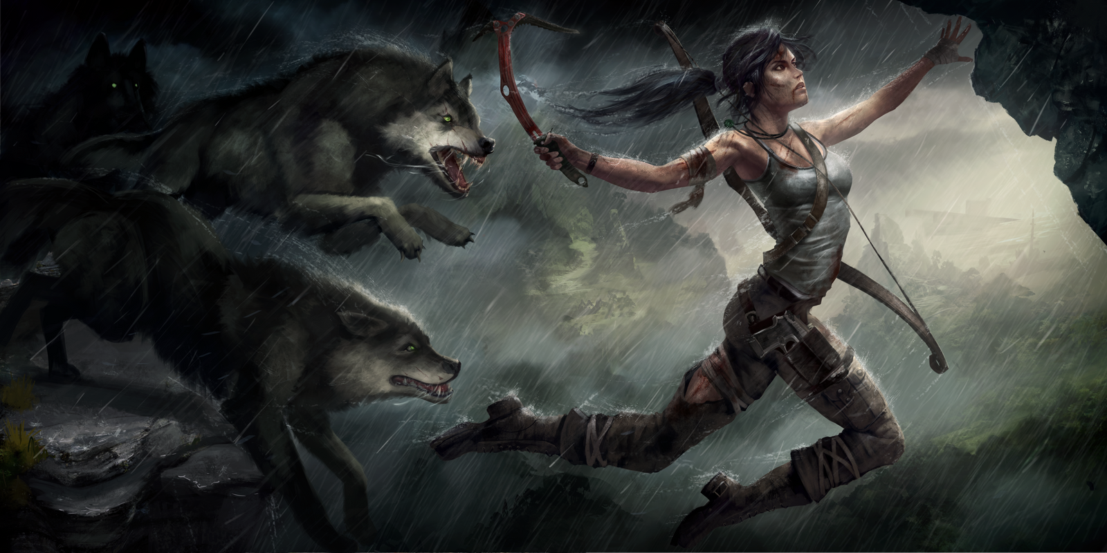 AndreyGevechanov TombRaider by AndrewLeon