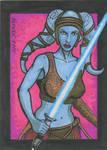 Aayla Secura Sketchcard 2