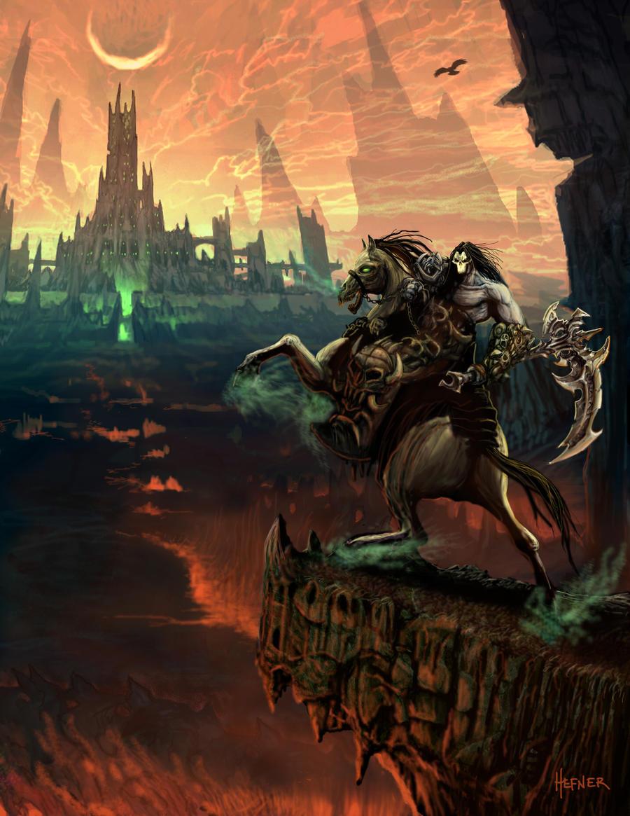 Darksiders 2 Key Art 1 by HalHefnerART