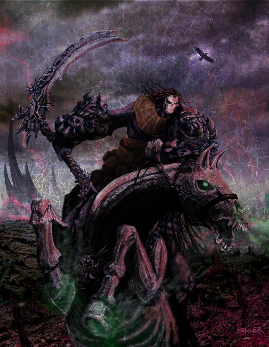 Darksiders 2 Key art 2 by HalHefnerART