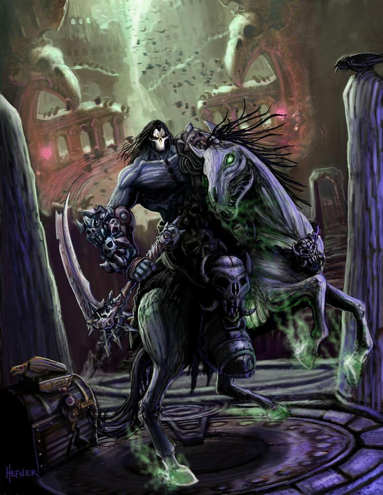 Darksiders 2 Key Art 4 by HalHefnerART